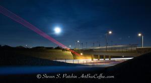 Bike Path and Freeway Steve Patchin