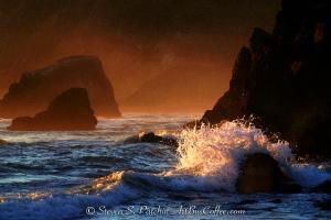 Cannon Beach Mist Steve Patchin