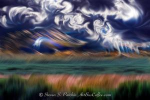 Clouds and Grass Steve Patchin