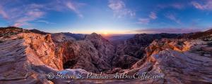 Pine Creek Sunrise Panorama (1)