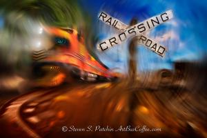 Railroad Crossing Steve Patchin