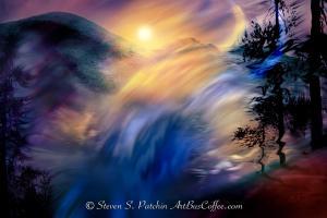 Rock Waterfall Steve Patchin
