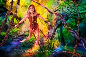 Wild-Girl-Forest-Chains-Steve-Patchin